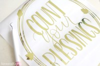 Count Your Blessings Wall Art Wreath - Liz on Call