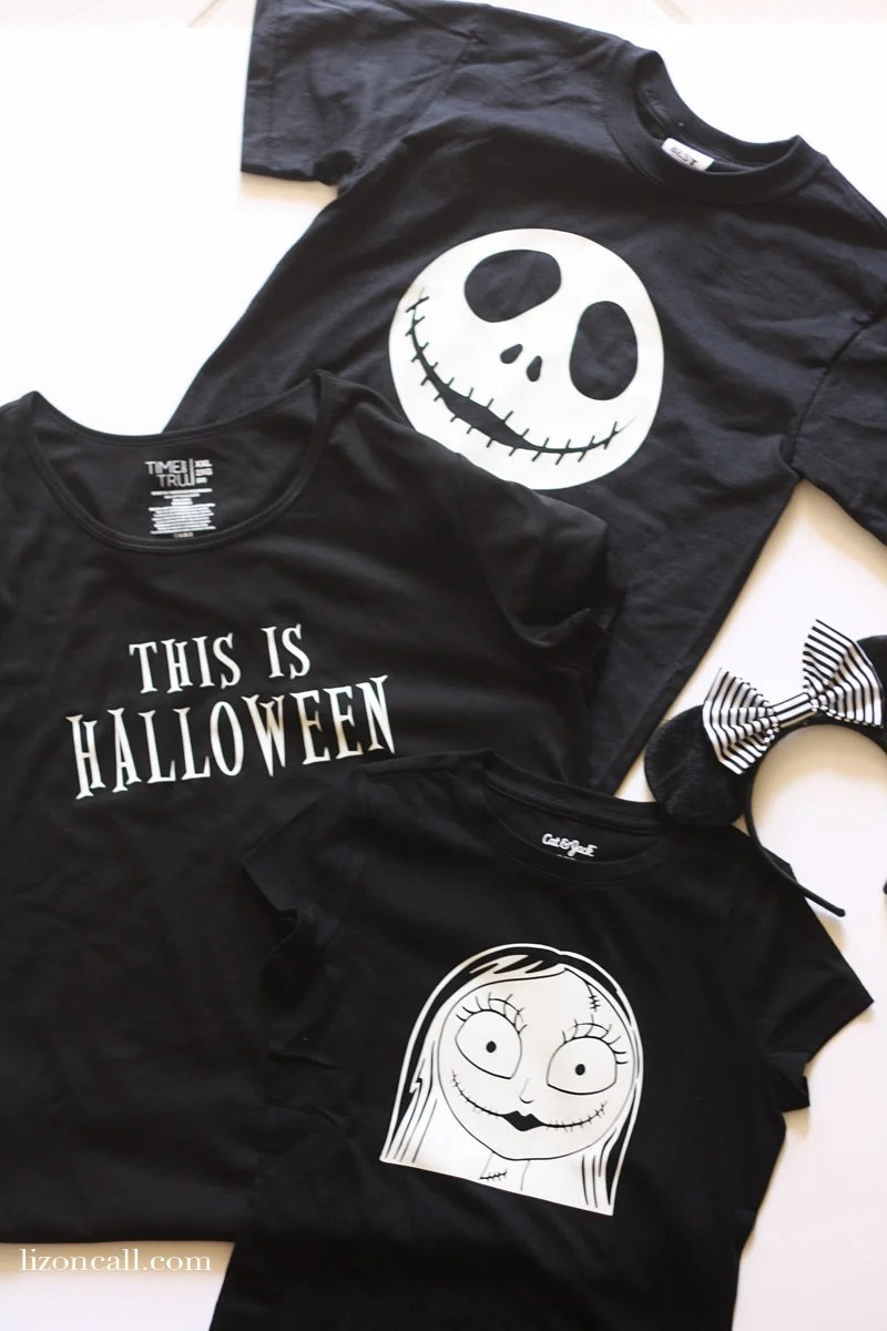 DIY Nightmare Before Christmas Shirts - Liz on Call