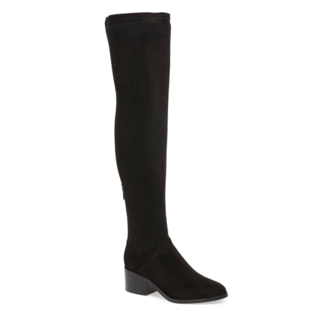Steve Madden gabbie thigh high boot OTK