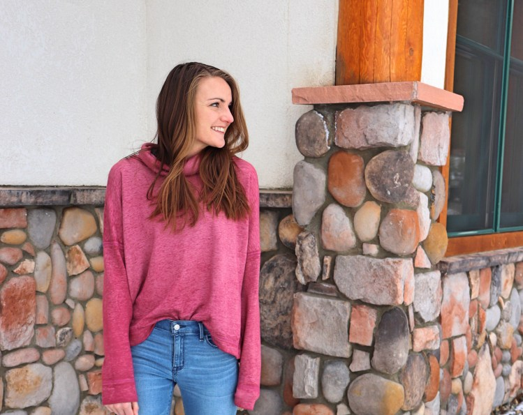 Caslon cowl neck sweater pullover