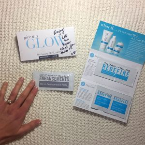 rodan + Fields sample pack