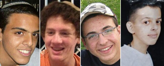 Four kidnapped boys