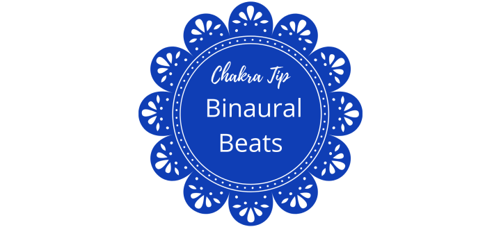 binaural beats throat chakra blue energy healing