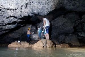 Exploration through mud