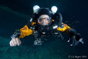 Rebreathers in Tank Cave