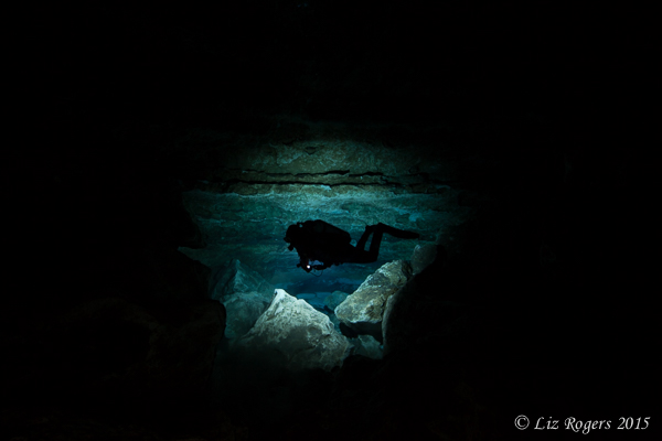 Darkness in Fossil Cave