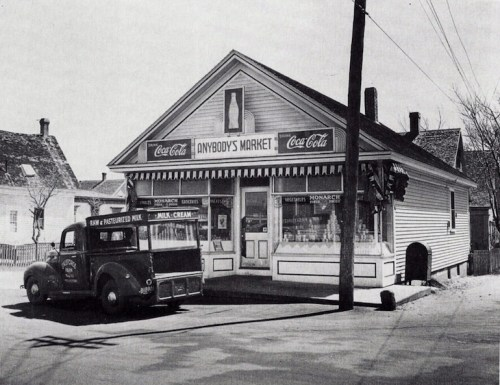 Anybody's Market, Provincetown, MA 1942 now Liz's Cafe, Anybody's Bar