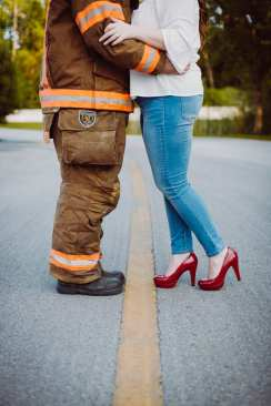 Crosby and Phil Engagement Photography Daytona Beach Fire Fighter3