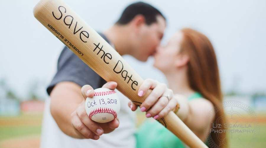 Love and Baseball: Cyndal & Nick's Daytona Engagement Session