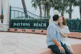 Cyndal and Nick Engagement Photography Daytona Beach Jackie Robonson Baseball 7
