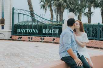 Cyndal and Nick Engagement Photography Daytona Beach Jackie Robonson Baseball 7