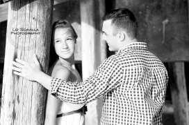 Couple Under Pier