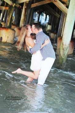 Couple Under The Pier