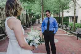 First Look Bryon Dierdre Courthouse Wedding Deland Liz Scavilla Photography-7