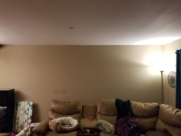 Bare wall.