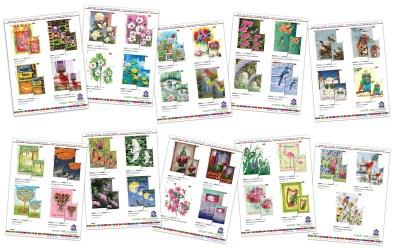 New Products Mailer - Premier Kites & Designs - Adobe InDesign