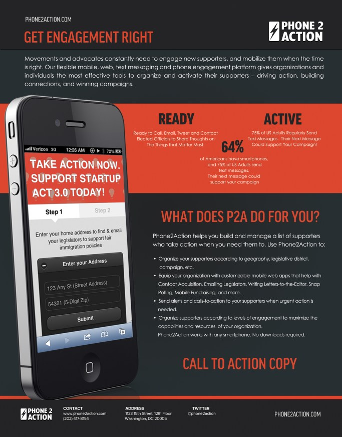 One Page Ad - Call2Action