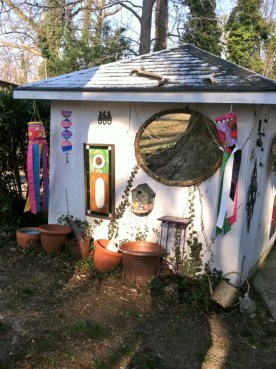 Hippie Shed Front View