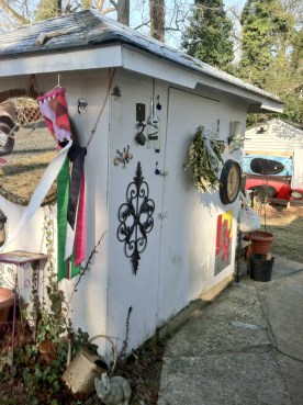 Hippie Shed Corner