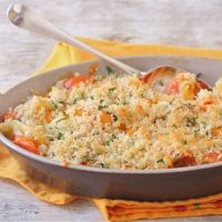 Parsnip and Carrot Gratin