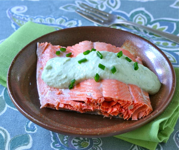 Image result for poached salmon recipe chives