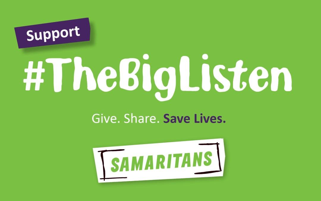 Liz speaks on Samaritans' #TheBigListen campaign