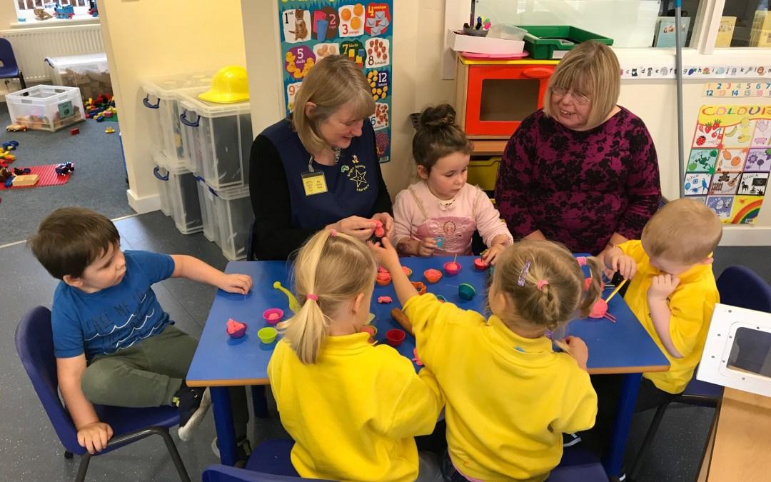Liz visits Brightsparks Nursery in Crawcrook