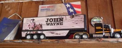 John Wayne, everywhere.