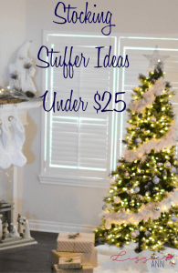 Stocking Stuffer Ideas Under $25