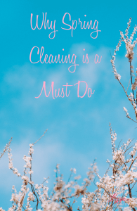 Why Spring Cleaning is a Must Do