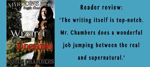 Robin Chambers Book tweet