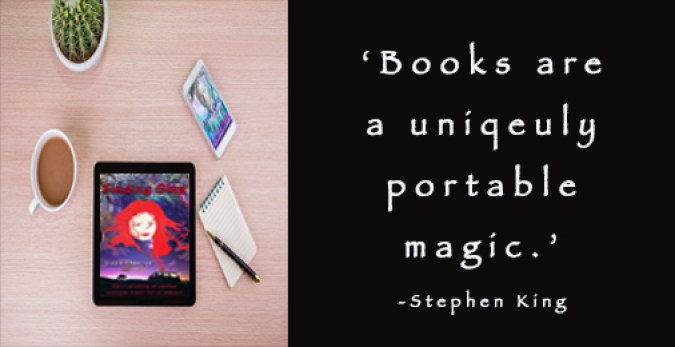 Lizzie Chantree books magic quote
