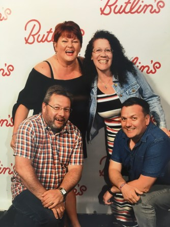 Lisa and Jay - Butlins 2018