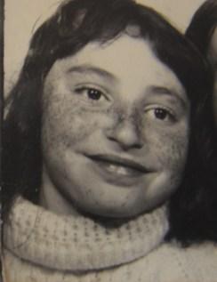 Sandra Danby aged 10 - photo @SandraDanby