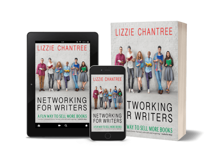 Networking for writers by Lizzie Chantree