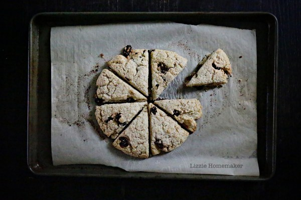 Lizzie Homemaker Cherry Scones
