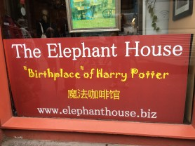 The Elephant House where JK Rowling wrote much of Harry Potter
