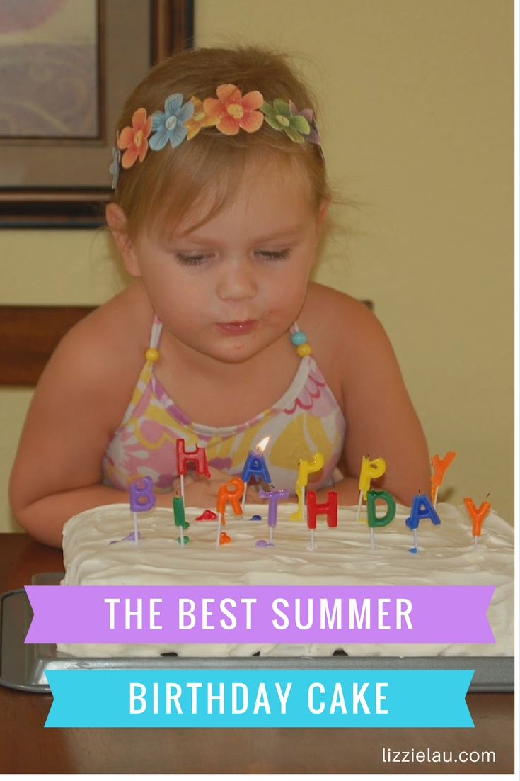 The Best Summer Birthday Cake Ice Cream Sandwich Cake