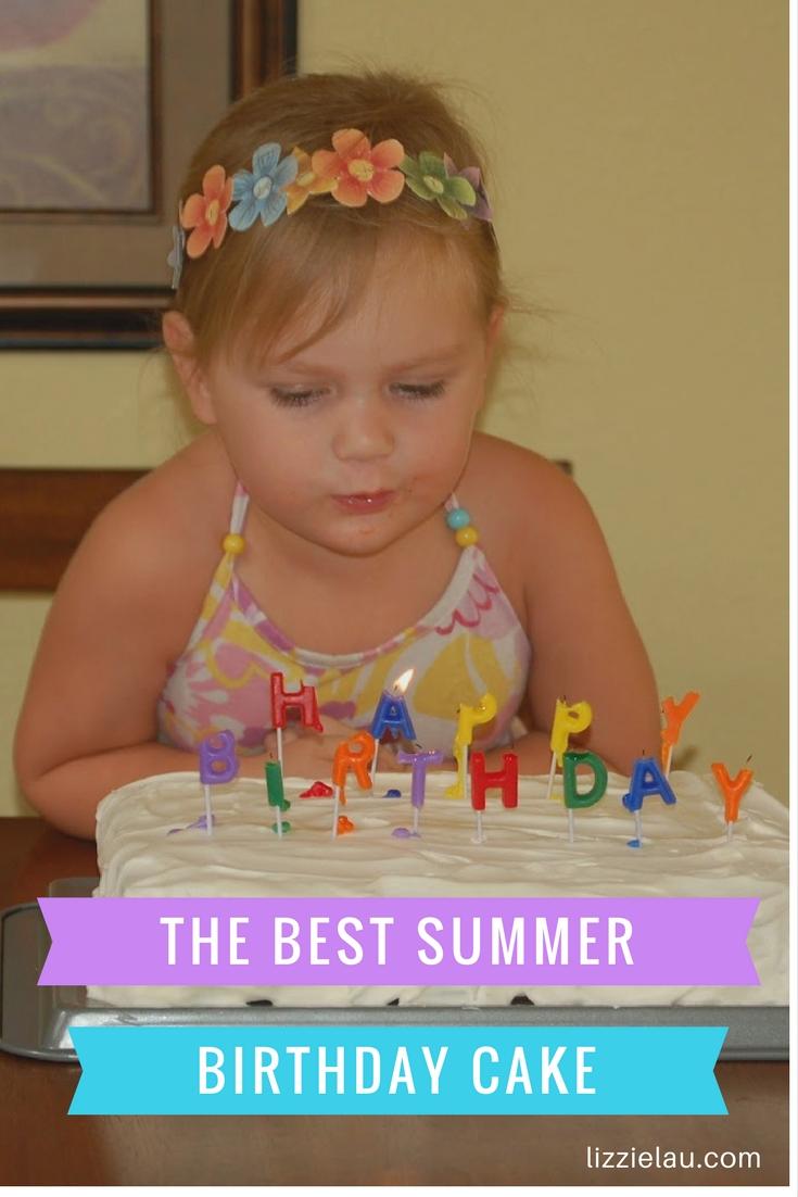The Best Summer Birthday Cake Ice Cream Sandwich Cake
