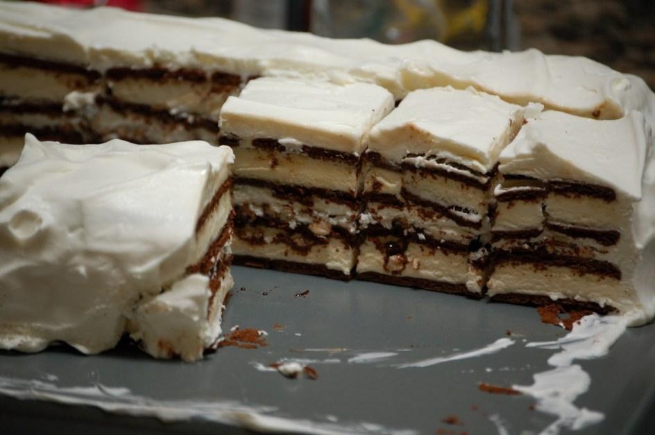 Ice Cream Sandwich Cake - The best summer birthday cake.