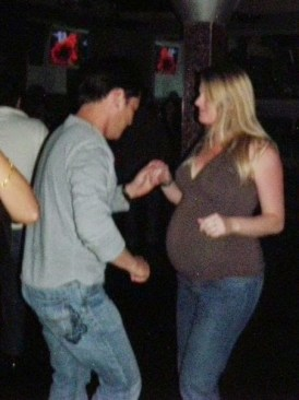 Salsa Dancing in Hollywood Florida at 7 Months