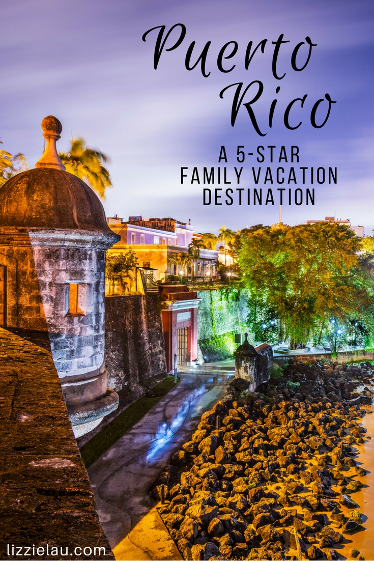 Puerto Rico A 5-Star Vacation Destination