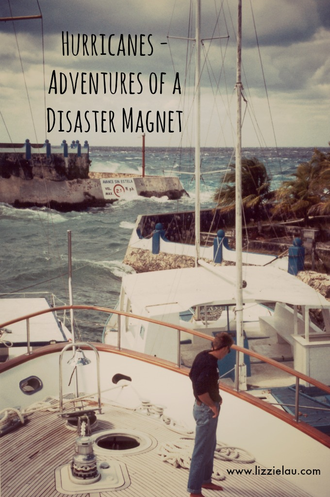 Earthquakes, hurricanes, volcanic eruptions, revolutions, to name a few. I always downplayed the danger I was in at the time, but I know Mom spent many, many sleepless nights wondering if I was still alive.