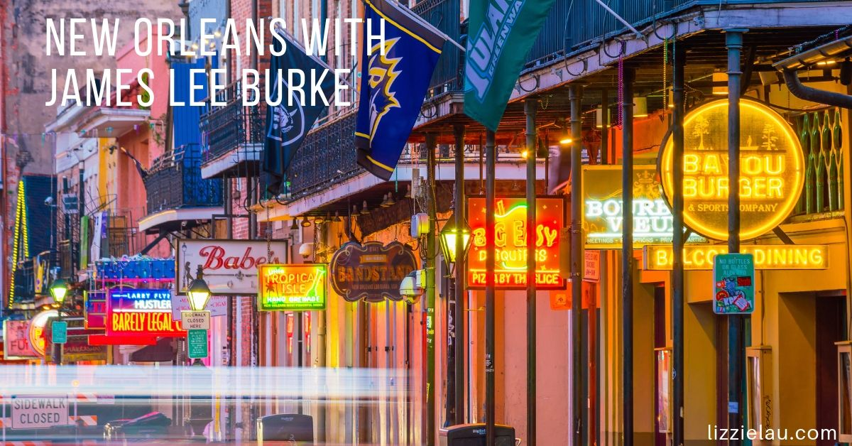 New Orleans with James Lee Burke