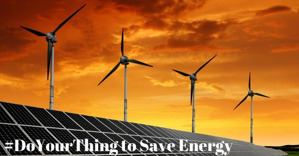 #DoYourThing – 4 Ways to Save Energy