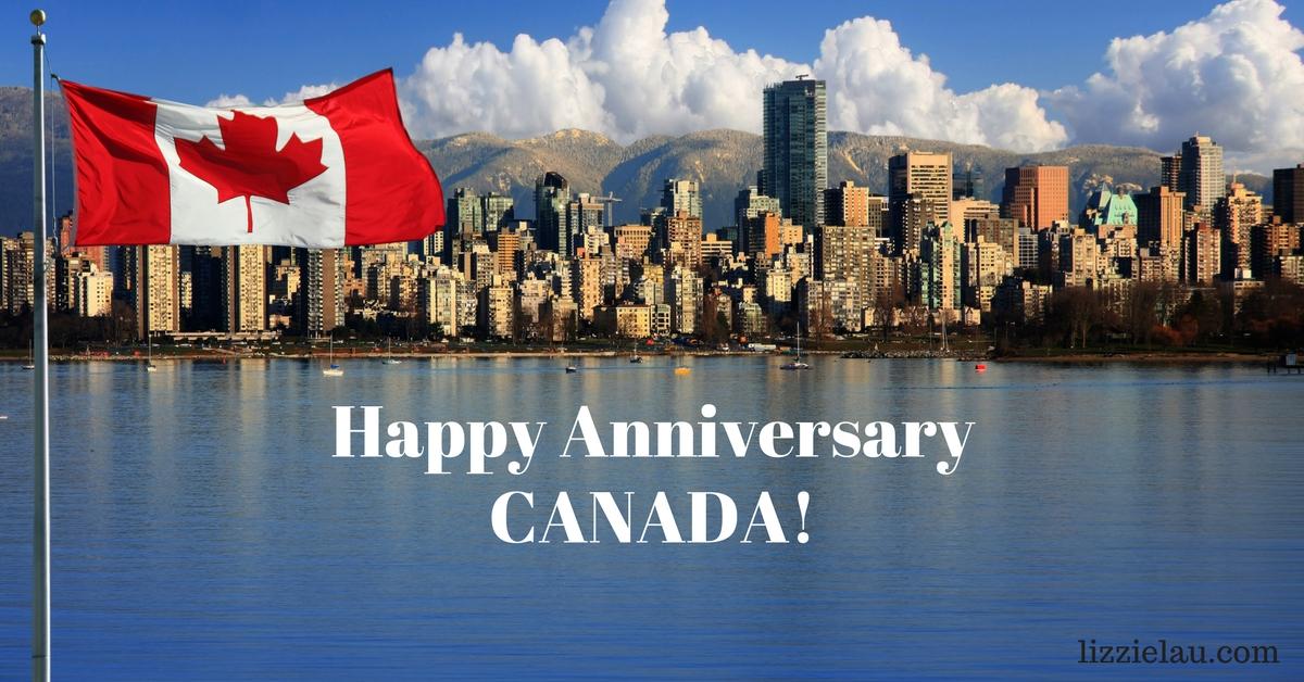 Happy Anniversary Canada #Canada150