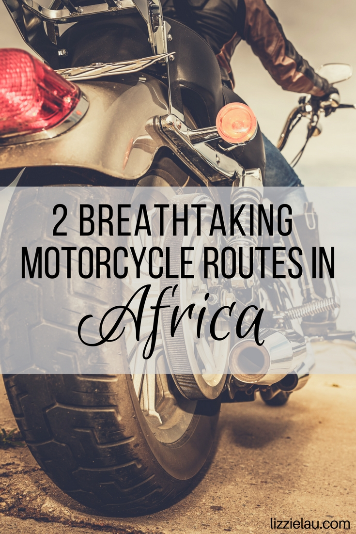 Two breathtaking motorcycle routes in Africa. #travel #adventure #advtravel #Africa