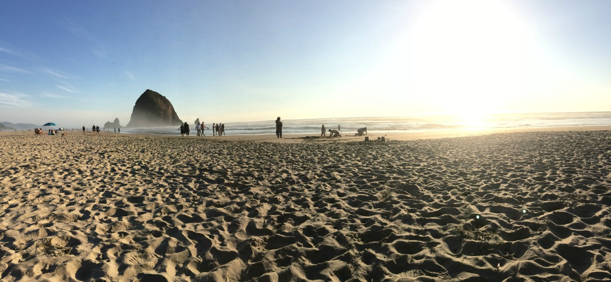 Cannon Beach Panorama