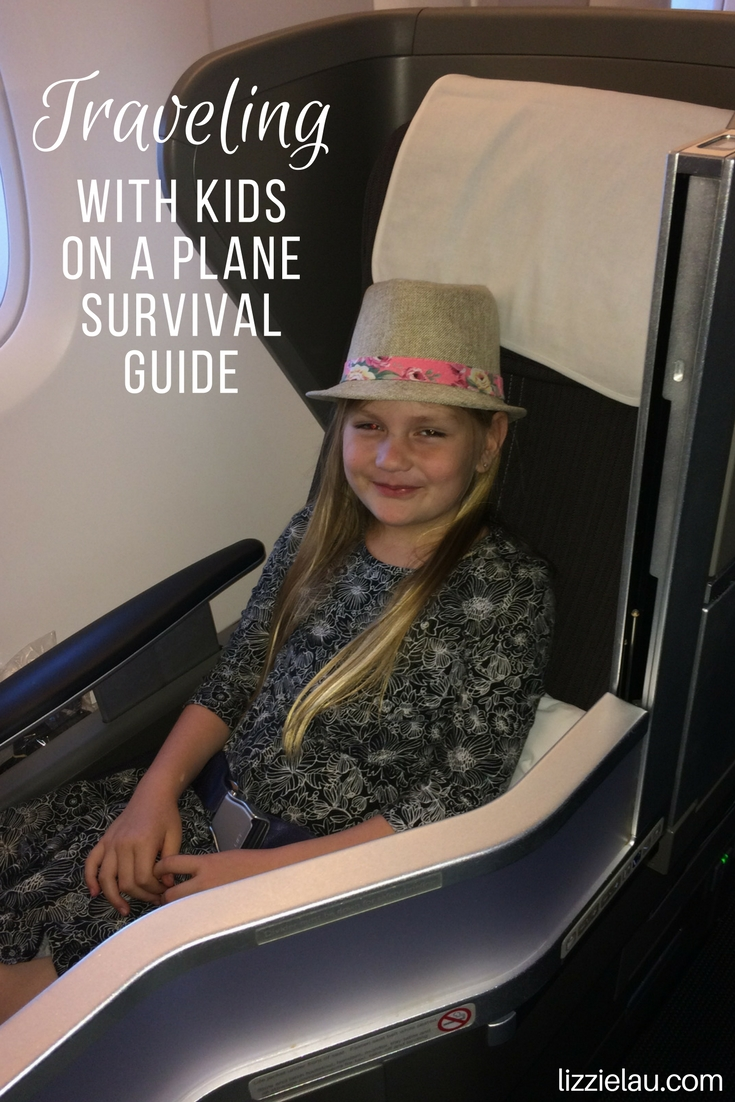 Traveling with Kids on a Plane - Survival Guide #travel #familytravel #airtravel #ad #streamteam