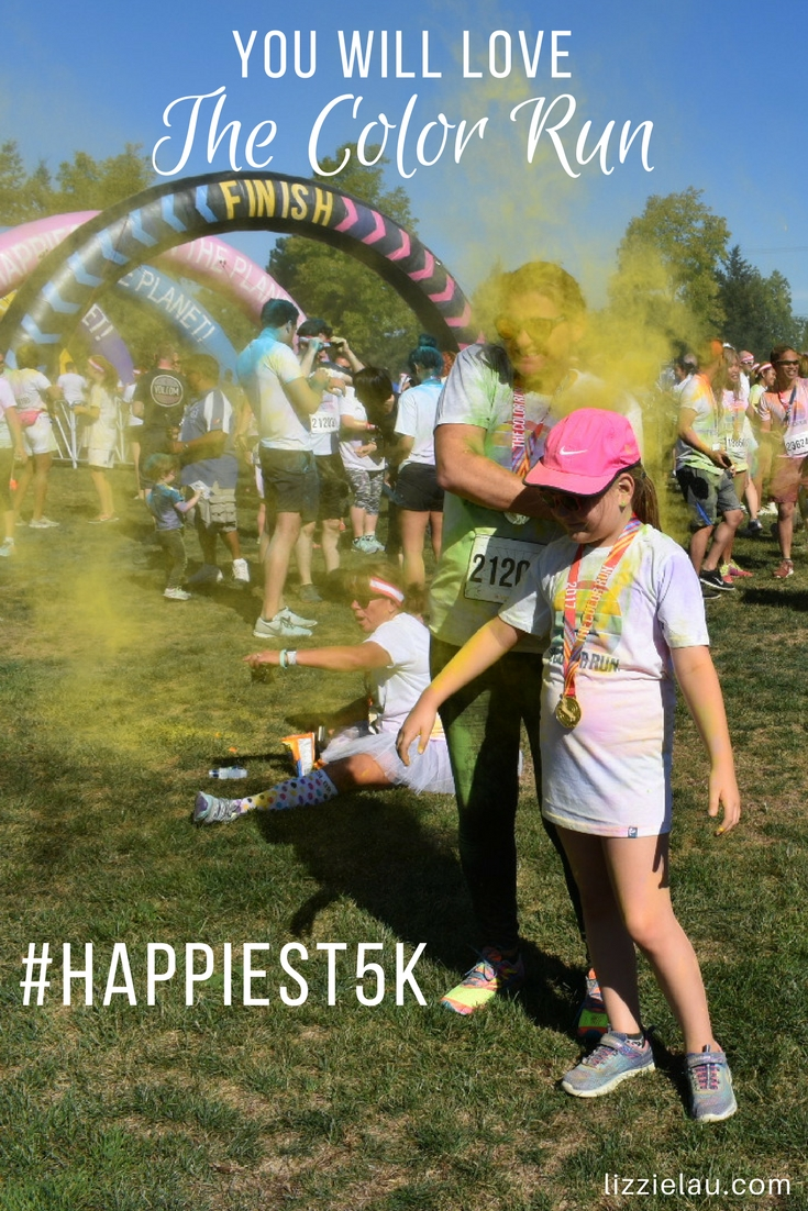You will love The Color Run. Check to see when it's coming to a city near you.